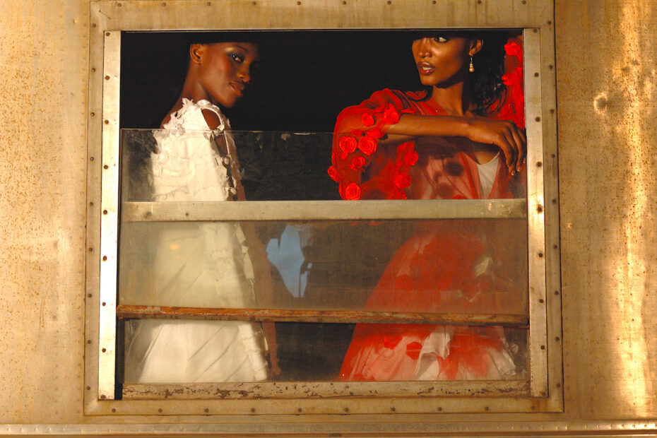 African Models in Maputo, Mozambique. Photo by Amsterdam photographer Tom van der Leij
