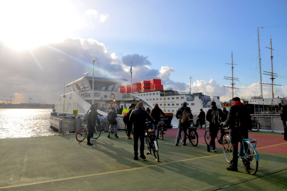 Amsterdam ferry photography therapy workshop by Amsterdam photographer Tom van der Leij
