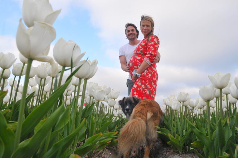 Pregnancy maternity and couple photoshoot by Amsterdam photographer Tom van der Leij