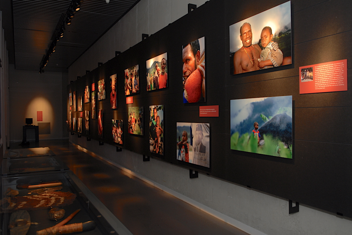 Photo exhibition hall and photos by Tom van der Leij
