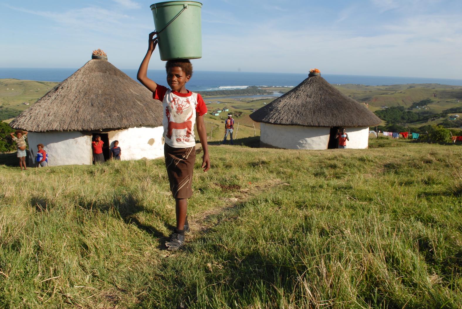 Fotografiereis Zuid-Afrika door Tom van der Leij rondreis Transkei en Wildcoast Xhosa dorpje