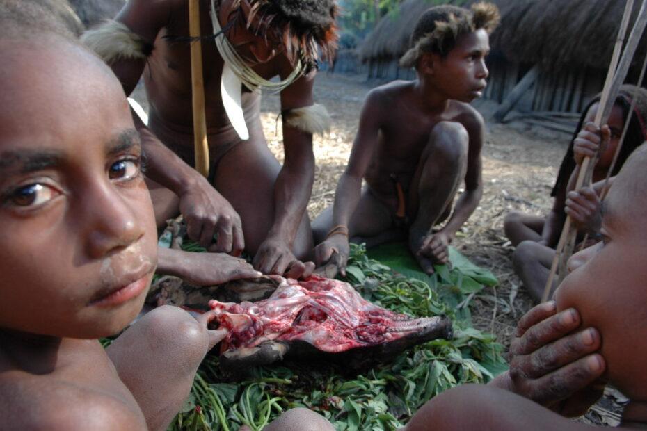 Irian Jaya, Papoea foto Tom van der Leij